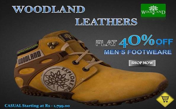 Woodland shoes discount coupon
