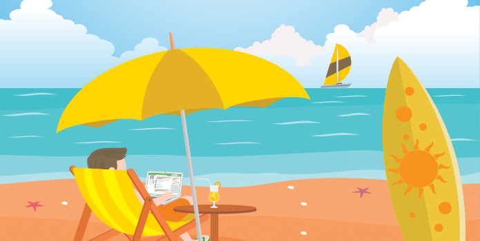 Infographic – How to save money while on vacation