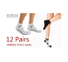 12 Pairs Of Unisex Ankle Socks (Buy 6 Get 6 Free) at Rs. 269 from Tradus...