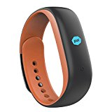 Lenovo Heart Rate Fitness Band (Fashion-Orange)