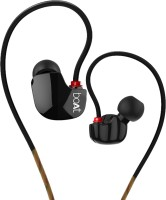 boAt Nirvanaa Uno Wired Headset with Mic(Black, In the Ear)