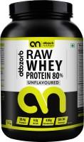 Abbzorb Nutrition Abbzorb Raw Whey Protein 80% Whey Protein(1000 g, Unflavoured)