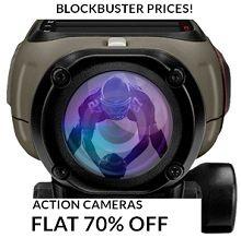 Action Cameras Flat 70% OFF Starts Rs.1350 From Flipkart.com