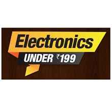 [Amazon App Only] : Electronics Under Rs.199