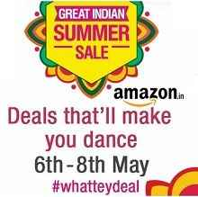 Amazon Great Indian Summer Sale 6th, 7th & 8th May 2015