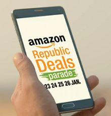 Amazon Republic Day Deals Parade Sale - 23rd - 26th January