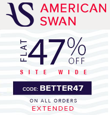 American Swan Chritmas Sale - 68% OFF + Extra 47% OFF with No Minimum Purchase