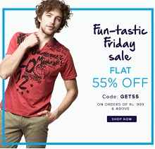 Americanswan Friday Sale : Extra 55% OFF On Rs.999 + Extra 15% Cashback