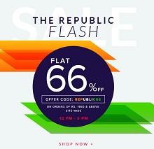 Americanswan Republic Flash Sale - Flat 66% OFF on Rs.1950