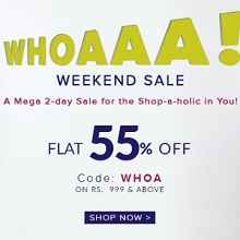 Americanswan Sale : Extra 55% OFF On Rs.999 + Extra 15% Cashback