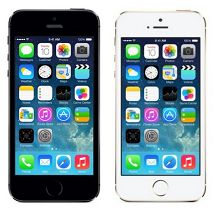 Apple iPhone 5s 32GB Rs.39990 From Amaozn.in