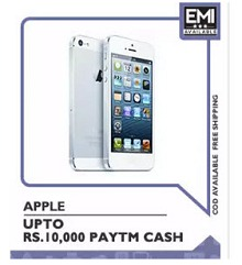 Apple iPhones Upto Rs. 10000 Cashback From Paytm.com