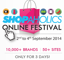 Axis Bank The Shopaholics Festival