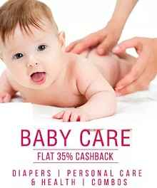 Baby Personal Care Extra 40% Cashback From Paytm.com
