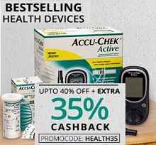 Best Selling Health Devices Upto 40% OFF + Extra 35% Cashback