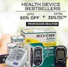Best Selling Health Devices Extra 35% Cashback From Paytm.com