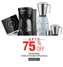 Best Selling Home & Kitchen Appliances Flat 70% OFF Starts Rs.85