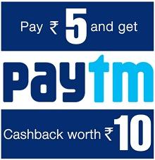 Bewakoof - Rs. 10 PayTm Wallet Balance just Rs. 5