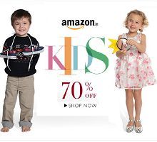 Kids Clothing Upto 70% OFF Starts Rs.133 From Amazon.in