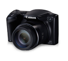 Canon PowerShot SX400 16MP Semi SLR Rs.7092 From Cromaretail.com