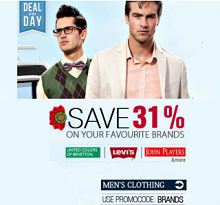 Men's  & Women's Clothing Flat 70% OFF From Snapdeal.com