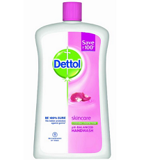 [Over] Dettol Liquid Soap Jar, Skincare - 900 ml Rs.75 or 2 Qty Rs.150