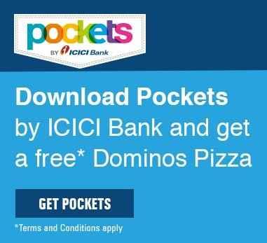 Download Pockets App & Get a Free Dominos Pizza