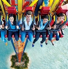 Thrilling Tuesdays- Essel World, Borivali W (Gorai) Entry Tickes for 2 ad..