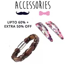 Fashion Accessories Upto 60% OFF + 50% Cashback From Paytm.com