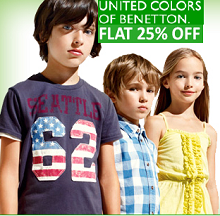 FLAT 30% OFF On UCB Kids Clothing From Babyoye.com