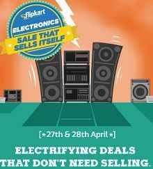 Flipkart Electrifying Deals Upto Rs.18000 OFF on Electronics Product
