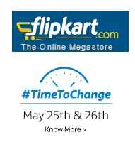 Flipkart Time To Change Sale 25th & 26th May On Mobiles, Home Appliances and Tech Accessories