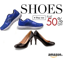 Footwears Flat 50% OFF Starts Rs.74 From Amazon.in