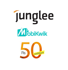 Free Mobikwik Rs. 50 Cash Back on Rs. 50 Coupon on Posting Ad From Junglee