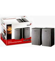 Genius SP-HF150 USB Powered Wood Speakers Rs.439 From Amaozn.in