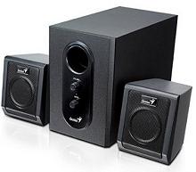 Genius SW-2.1 355 Speaker System Rs.929 From Amazon.in