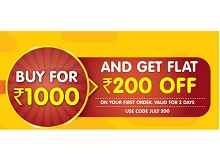 Grocermax : Buy Groceries for Rs 1000 and Get Rs 200 OFF + Extra 10% Cashback