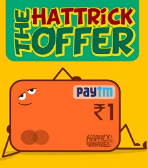 Happilyunmarried - Rs. 3 Paytm Wallet Balance Just Rs. 1