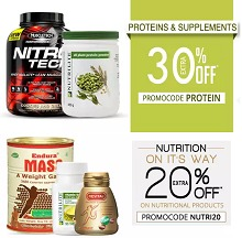 Healthcare & Sports Products Upto 70% OFF + Upto  30% Cashback