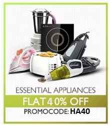 Home & Kitchen Appliances 60% OFF + Extra 25% Cashback From Paytm.com