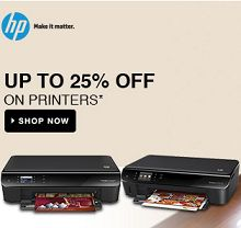 HP Printers Upto 25% OFF Starts Rs.1499 From Flipkart.com