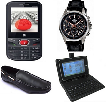 Iball Fab 2.4c Mobile Phone Rs. 1198 , Sleek Wireless Mouse Rs. 327, Basi..