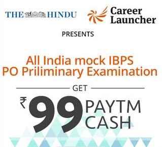 Ibps Career Launcher Mock Tests 100% Cashback Using Paytm Wallet