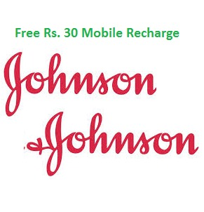 Get Rs.30 Recharge from Johnson Baby