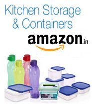 Kitchen Storage, Dish Serving, Bowls & Containers Upto 80% OFF Starts Rs.83 From Amazon.in