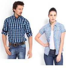 Men and Women Roadster Shirts Starting Rs.359 From Myntra.com