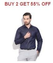 Men's Clothing Buy 2 Get 55% OFF From Flipkart.com