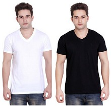 Men's Tshirts Upto 73% OFF Starts Rs. 119 From Flipkart.com