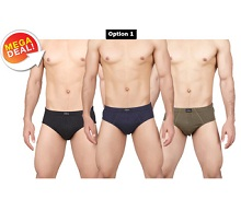 Metro Collections Assorted Briefs Pack of 3 Rs. 180 From Tradus.com