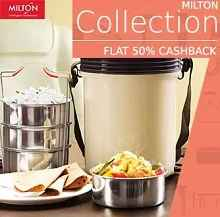 Milton Extra 45% Cashback on Rs. 499 From Paytm.com